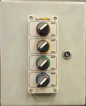 Botoneiras de Controlo Industrial