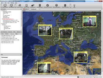 AKcess Pro Server - Mapa de Sensores