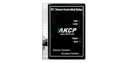 AKCP - Controlo de relé DC