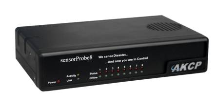 AKCP sensorProbe8 - Monitorização ambiental