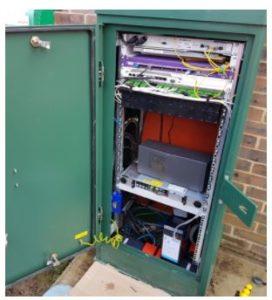 Controlo de Acessos a Bastidores de Comunicações e Armários de ISP's com AKCP
