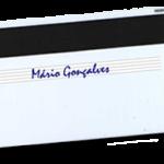 Cartões de Plástico com Painel de Assinatura