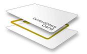 Fabrico tipo sandwich de um cartão de aproximação