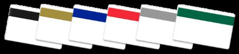 Cartões de PVC Banda Magnetica