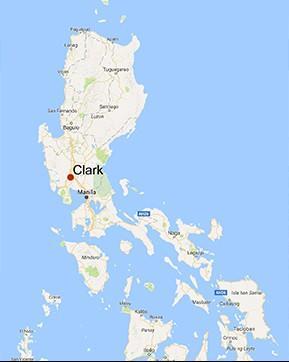 Clark, nas Filipinas - Zona Industrial e Económica