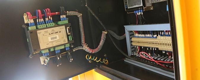 Painel de Controlo ComAp InteliLite AMF20 com RS485 para o SPX+