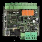 Controlador de Acessos AXESS X-IO - Vista da Placa