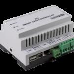 Controlador de Acessos AXESS X-IO Ligações de Rede e RS485