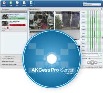 Controlo Acesso AKCess Pro Server