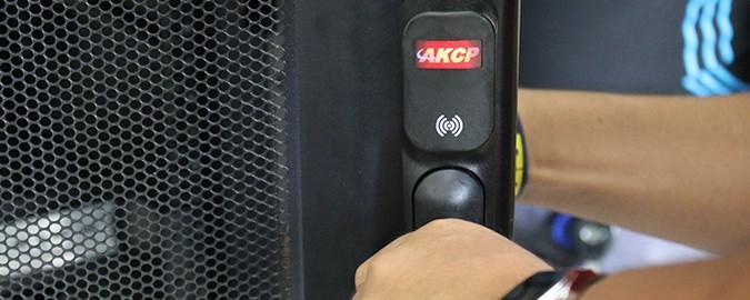 Controlo de Acessos a Bastidores AKCP RFID Lock