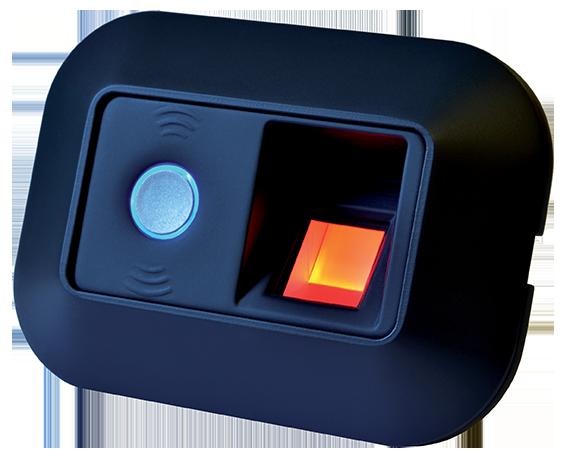 Controlo de Acessos Biométrico Autónomo Preto