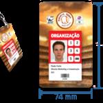 Credencial XL para Eventos em Cartões de Plástico