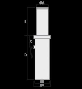 Pilarete Defender 275x500 - Plano lateral