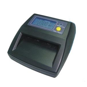 Detector de notas falsas portátil LCD