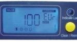 Ecrã em LCD do detector de notas falsas A1