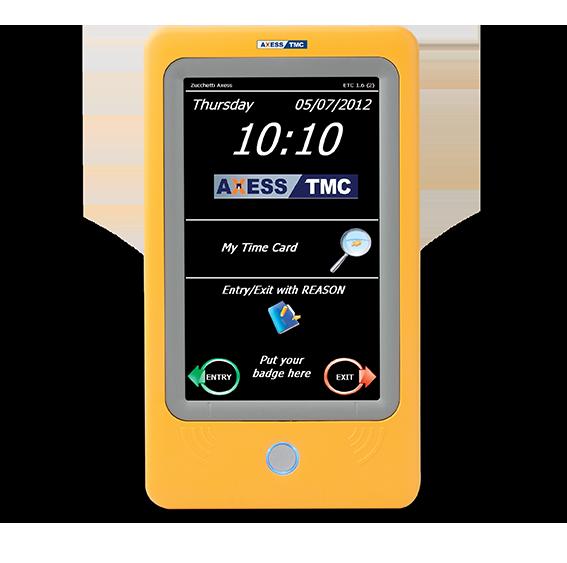 ETC - Cartão de Ponto Electrónico - Vista Frontal