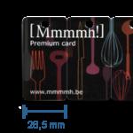 Cartões de Plástico Fraccionados - Partido
