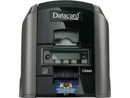 Impressora de Cartões Datacard CD800 Vista de Frente