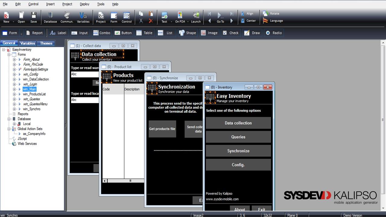 KALIPSO - Ambiente para desenvolvimento aplicacional móvel