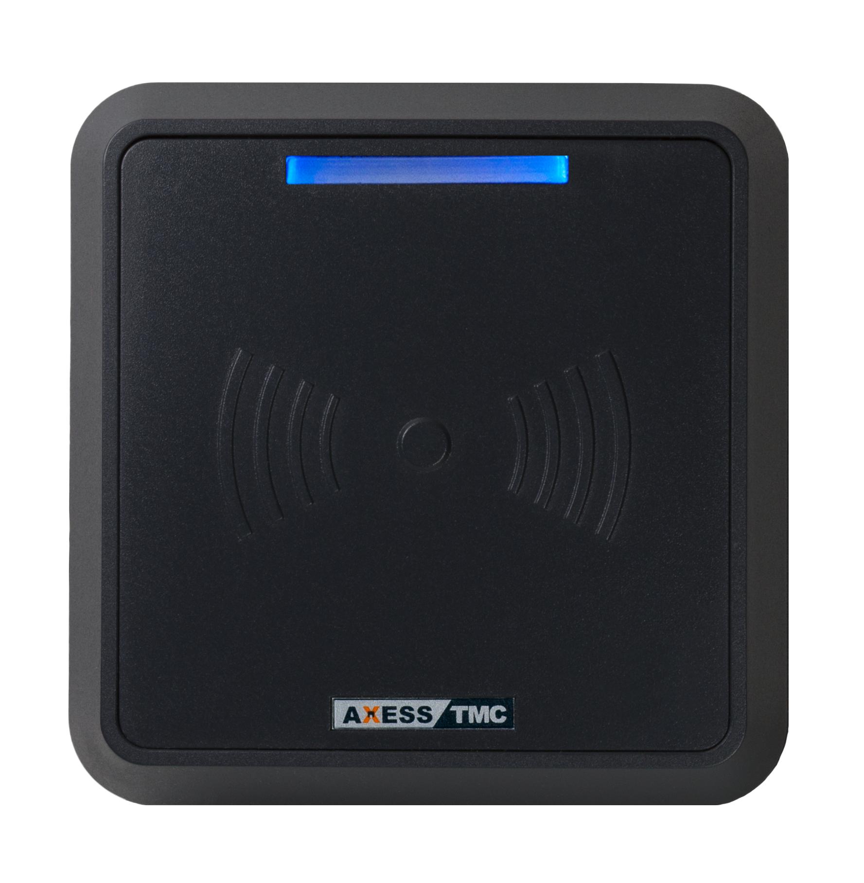 Leitor de Controlo de Acessos RFID3 Preto - Vista Lateral