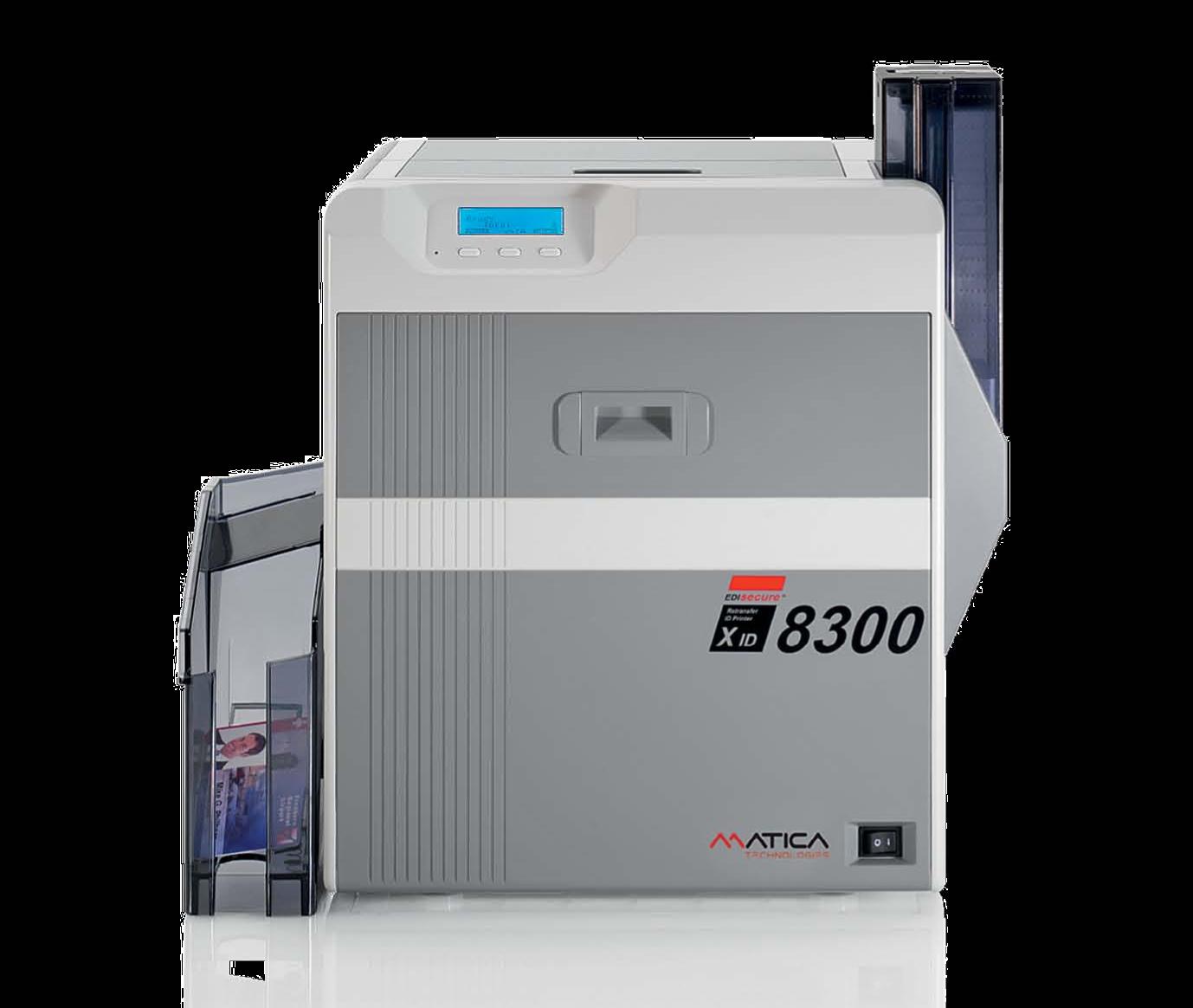 Matica XID 8300 - Impressora de Retransferência de cartões
