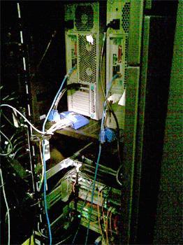 Bastidor na NASA com soluções AKCP