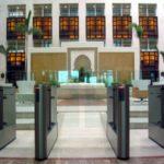 Recepção de Hotel de Luxo - Instalação Torniquetes