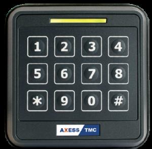RFID5 - Leitor de Controlo de Acessos Multifrequência com teclado numérico PIN