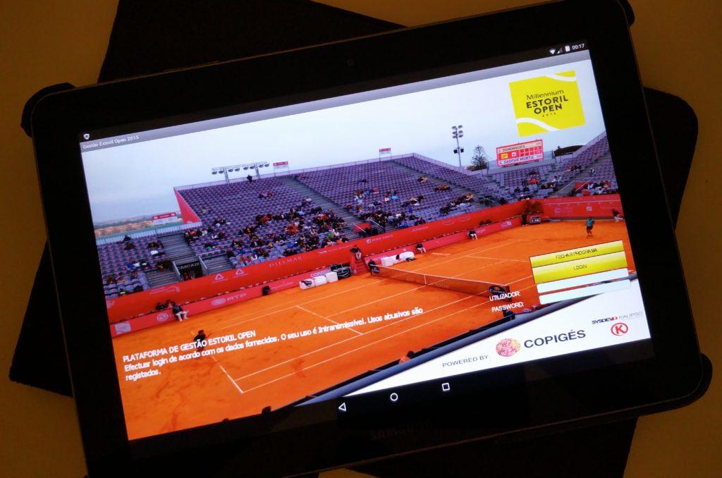 Plataforma mobile para controlo de acessos em tempo real do evento