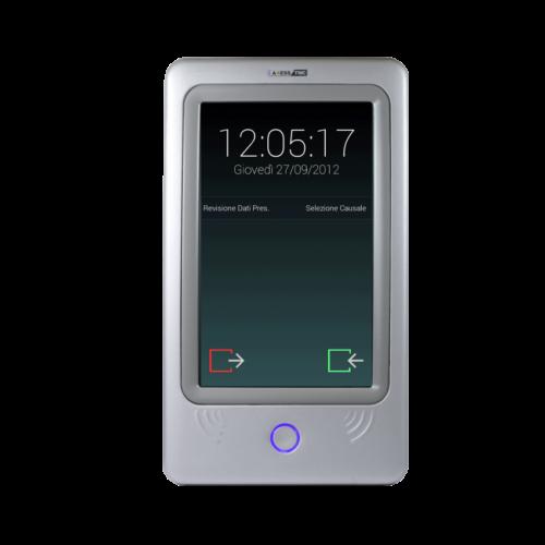 SuperTRAX 7 - Terminal de Controlo Assiduidade e Acessos com Recolha de Dados