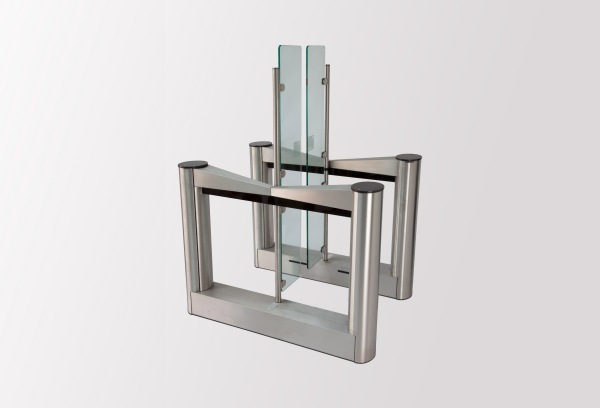 Torniquete Porta de Vidro 400 - Vista lateral