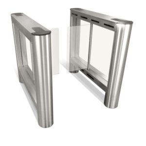 Torniquete Porta em Vidro 150 - Fundo branco